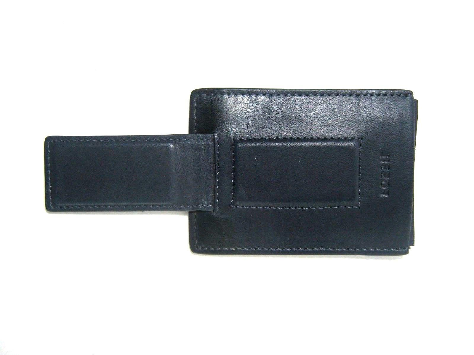 Fossil Security Blocking Magnetic Money Clip Card Case Wallet
