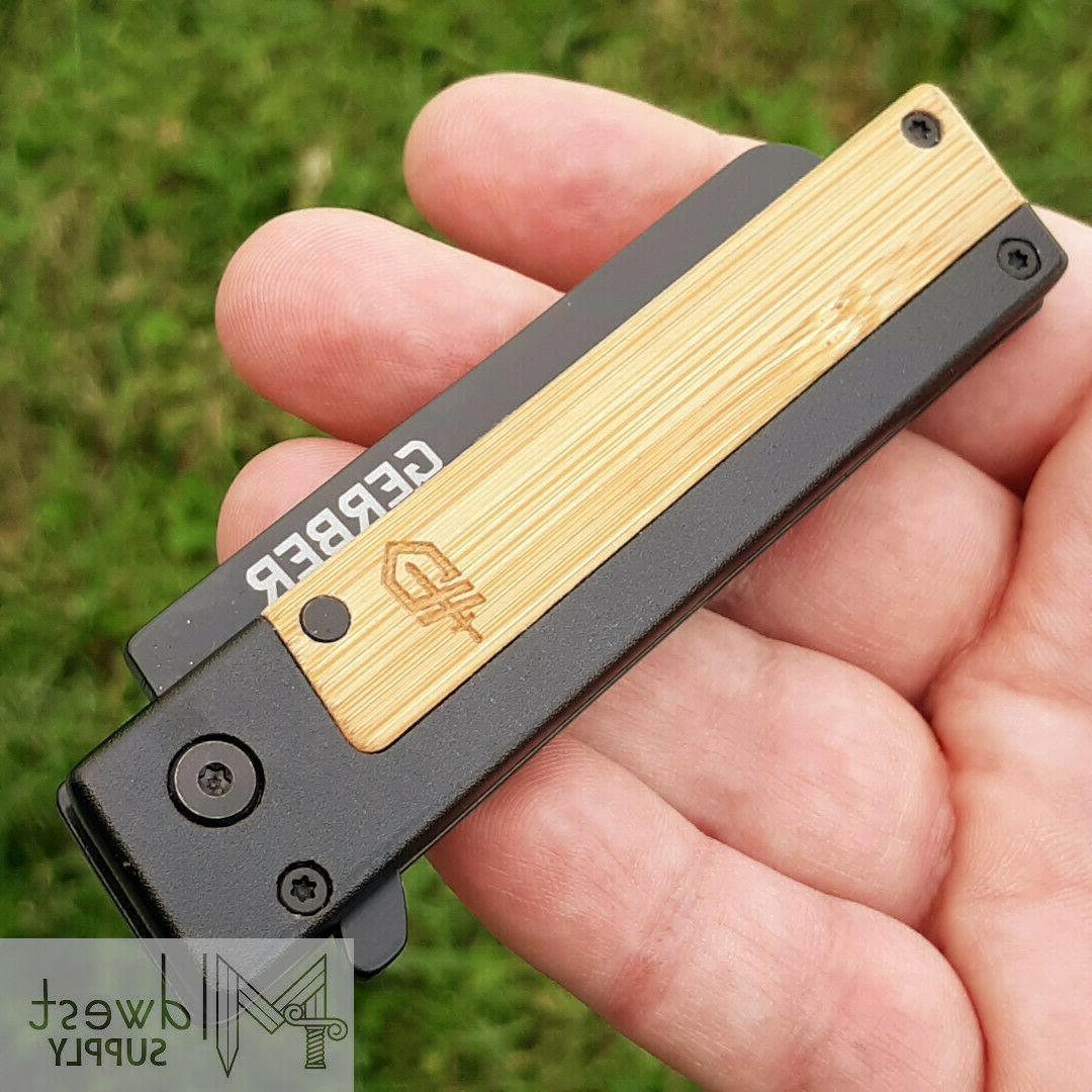 """Gerber Knife 2.7"""" Bamboo"""