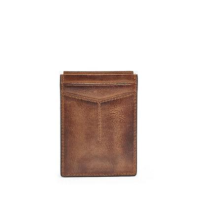 Fossil Card Case Clip Front Pocket