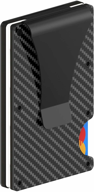 RFID Carbon Fiber Minimalist Money Front Pocket