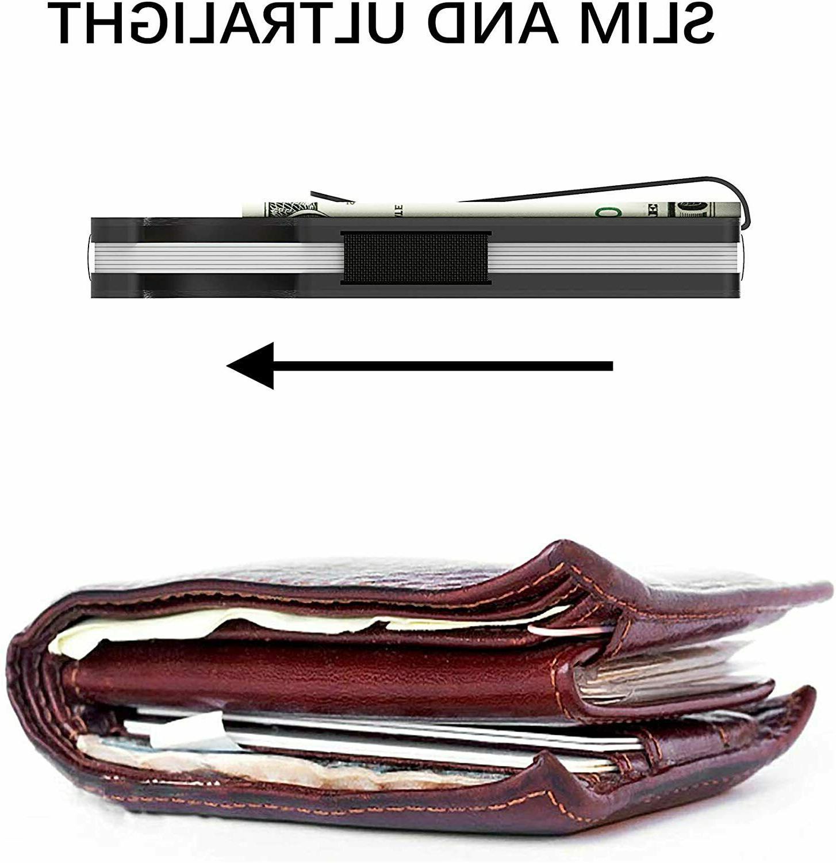 RFID Fiber Minimalist Money Front Pocket