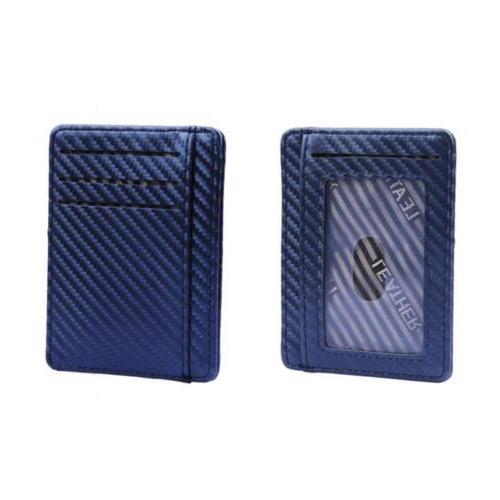 RFID Minimalist Ridge Front Mens