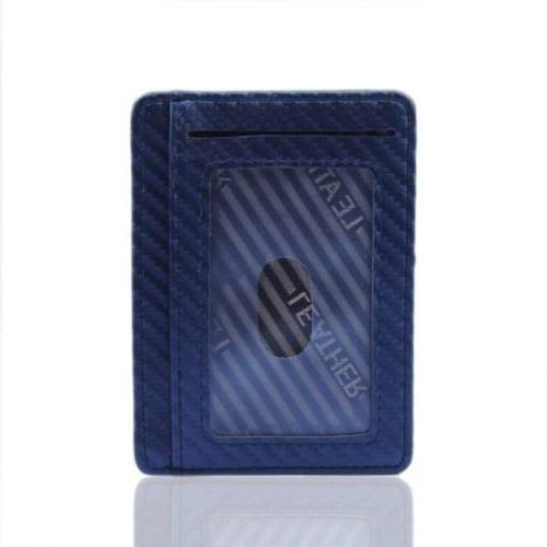 RFID Carbon Minimalist Front Mens