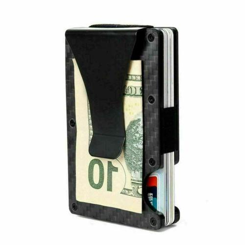 RFID Money Clip Mens Card Slim Purse