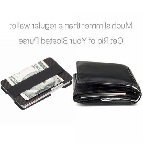 RFID Carbon Fiber Money Clip Holder