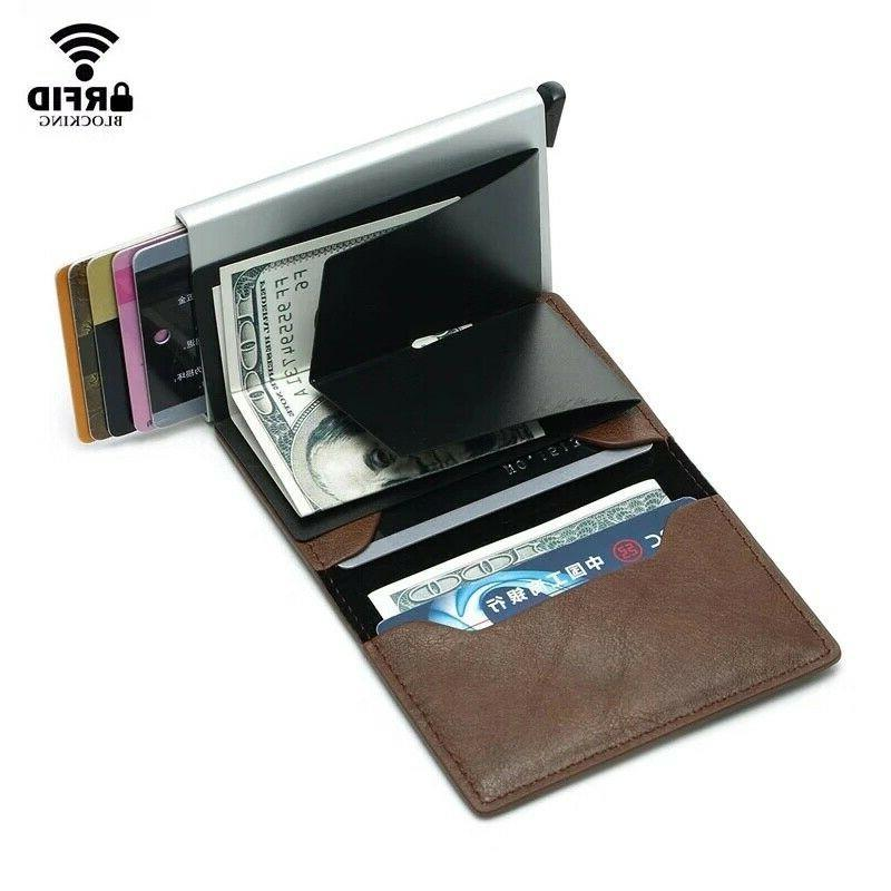 Credit Holder Cash Clip Wallet Purse