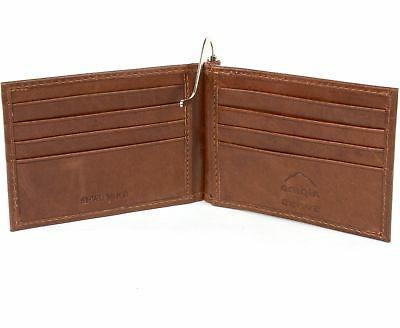 Alpine Mens Wallet Pocket Spring Clip