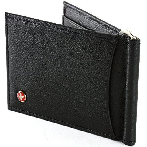 rfid blocking men wallet leather