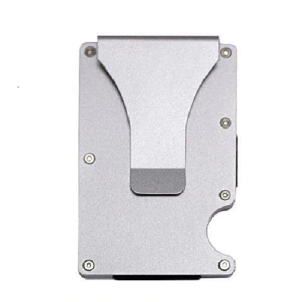 rfid blocking minimalist slim ridged edge wallet
