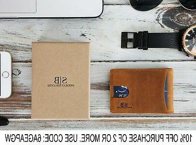 RFID Slim Genuine for with Money