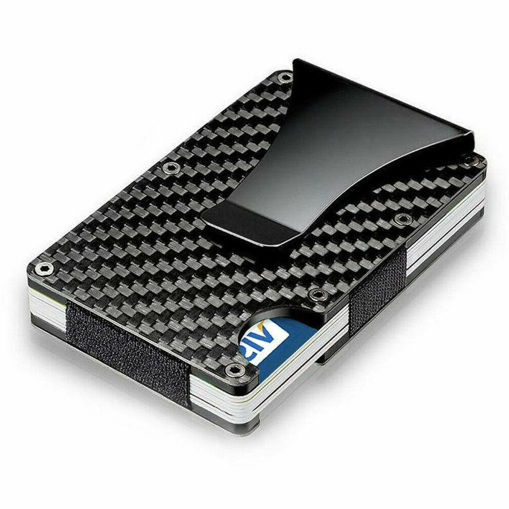 Men Credit Holder Wallet Gifts RFID Fiber