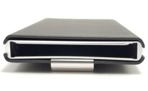 RFID Automatic Pop Aluminum Wallet NEW