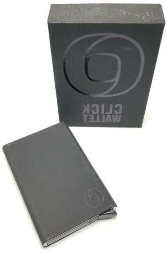rfid credit card holder automatic pop up