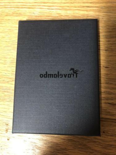 Travelambo RFID Front Minimalist Slim Leather