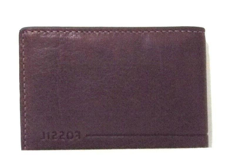rfid men s pinch clip leather wallet