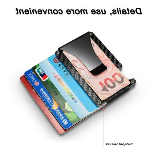 RFID Carbon Fiber Minimalist Money