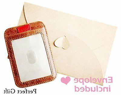 RFID Genuine Leather Front, Clip Cards