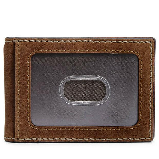 Fossil RFID Clip Cognac Wallet ML4122222