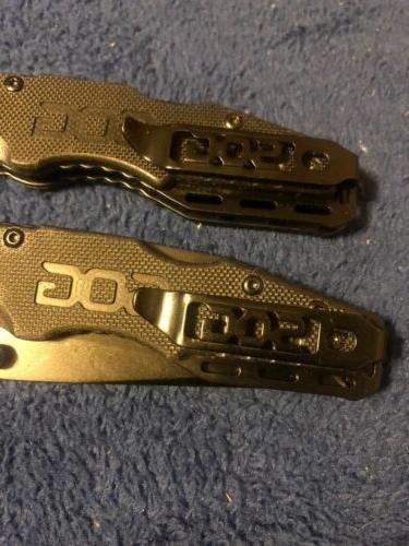 SOG - SALUTE Knife Black Edge FF11