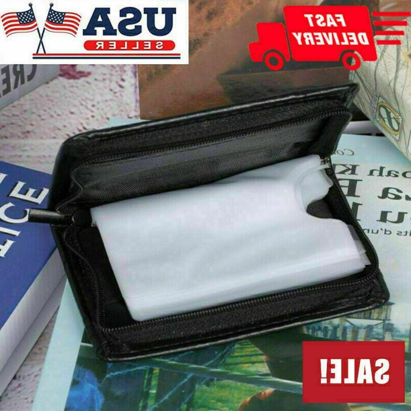 Secure Lock Wallet Women Card Holder Wallets