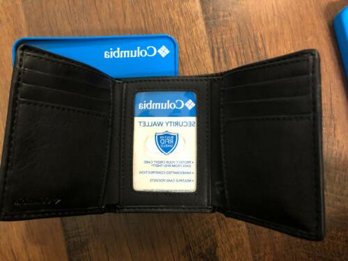Columbia In RFID Leather In