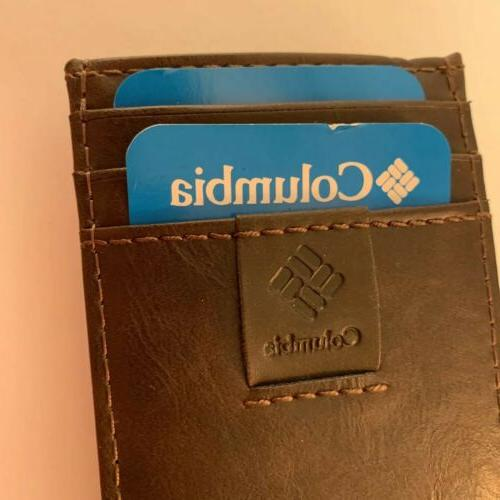 Columbia Security In Shield Leather