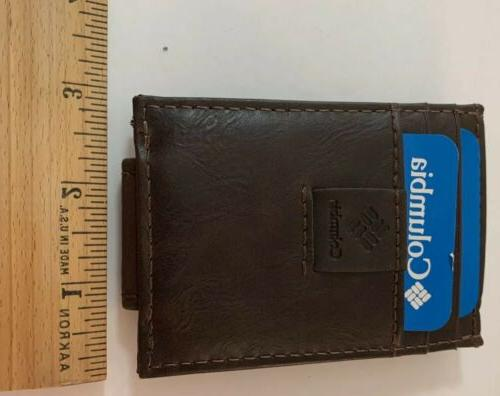 Columbia Built In Leather New In