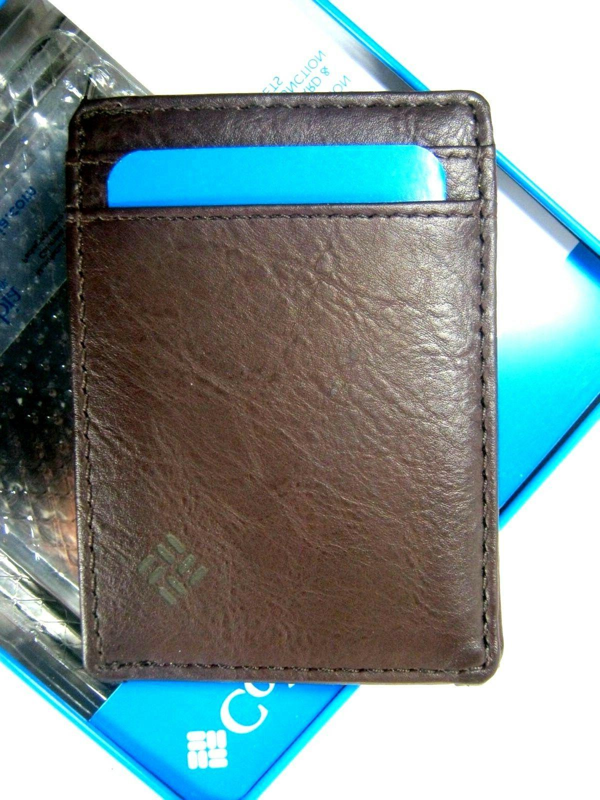 security wallet magnetic money clip case rfid
