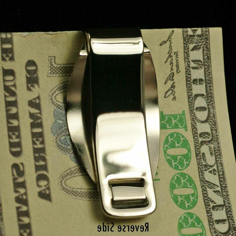 Clip Stainless Coin Holder Bezel