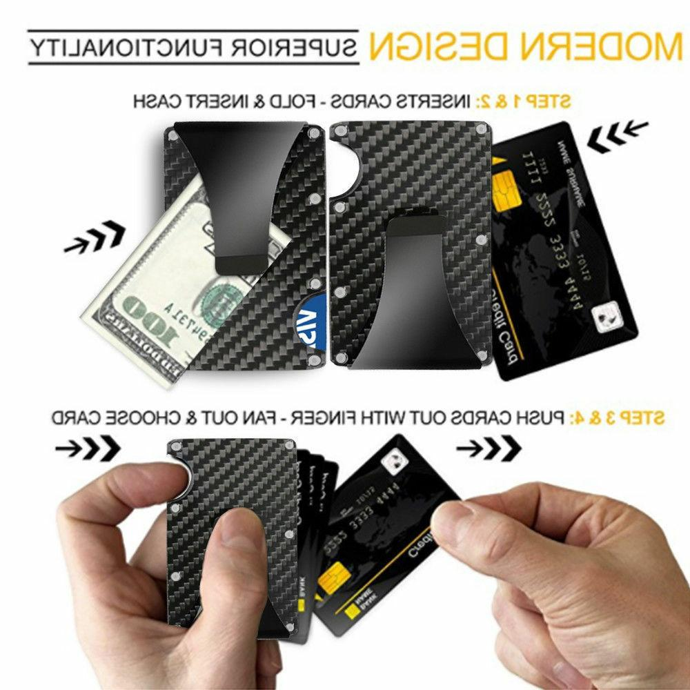 Slim Bank Holder Money Wallet
