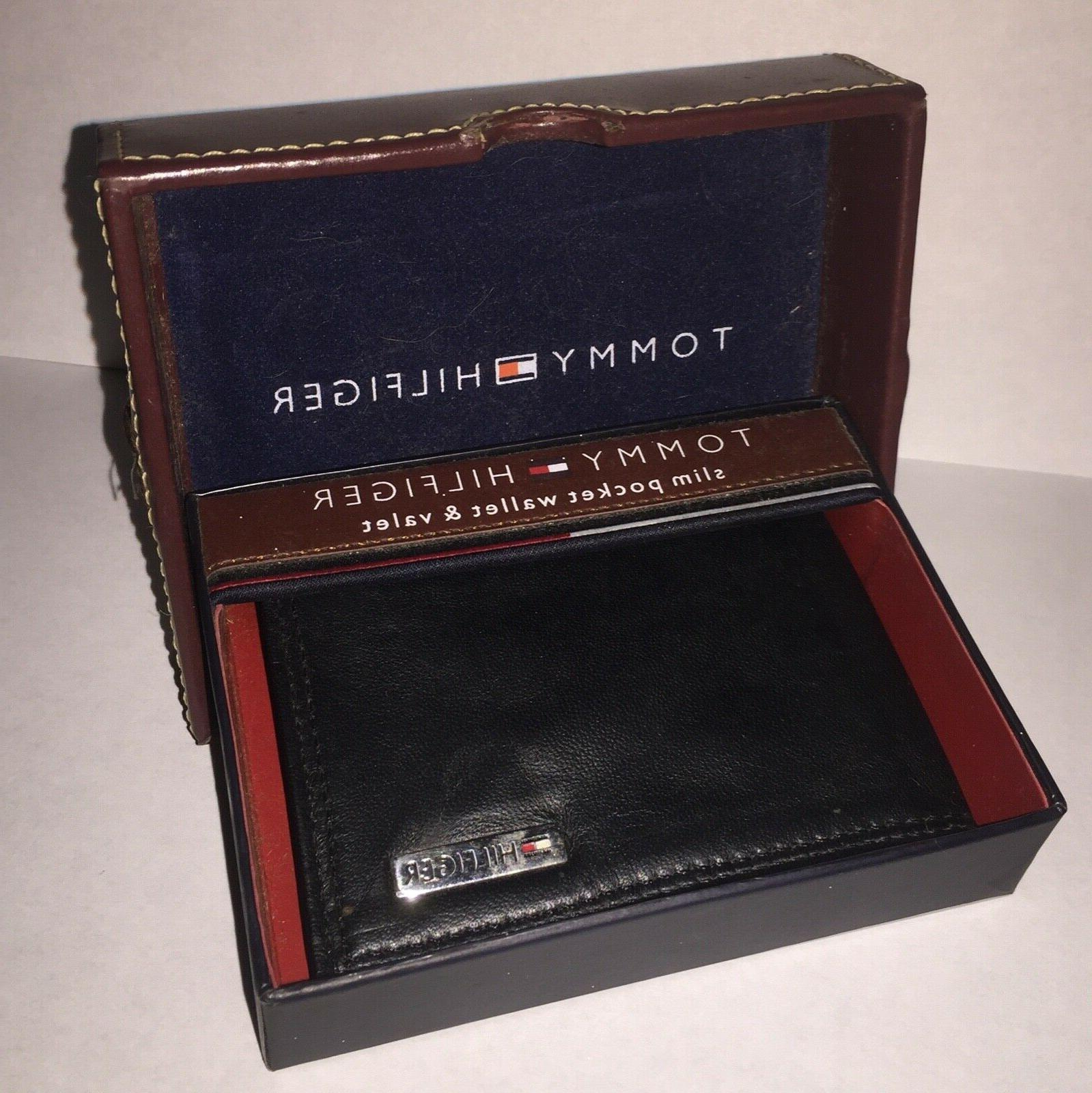 slim pocket wallet money clip and valet
