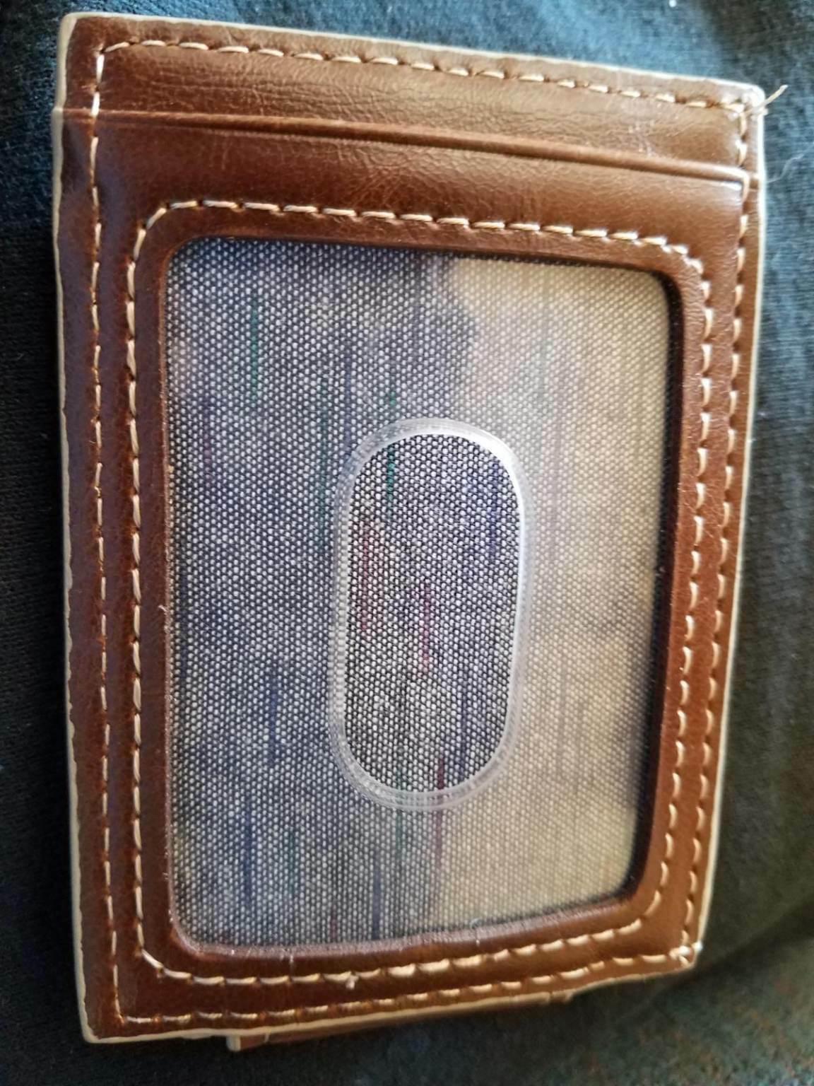 Dockers Slim Series Front Pocket Wallet w/ Magnetic Case