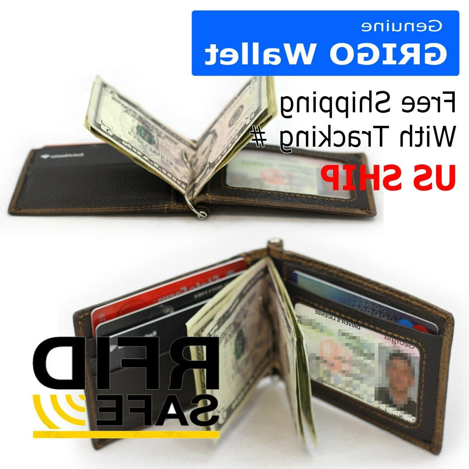 Slim Thin Wallet Card ID Holder Front Pocket