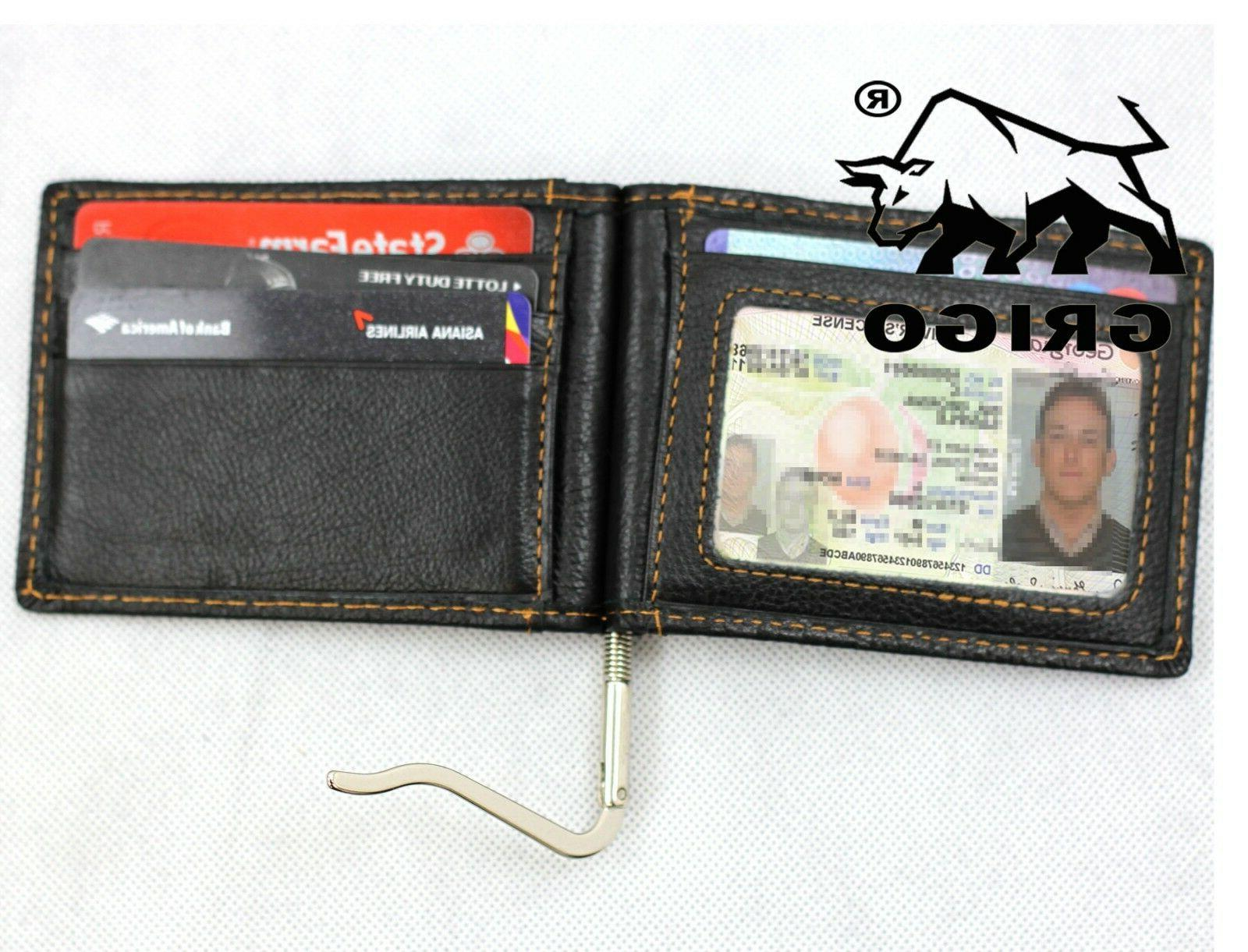 Slim Wallet Money Card ID Holder Pocket