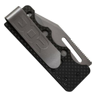 Sog SOGAC792.9-Inch Straight Edge Blade C-Ti Knife,