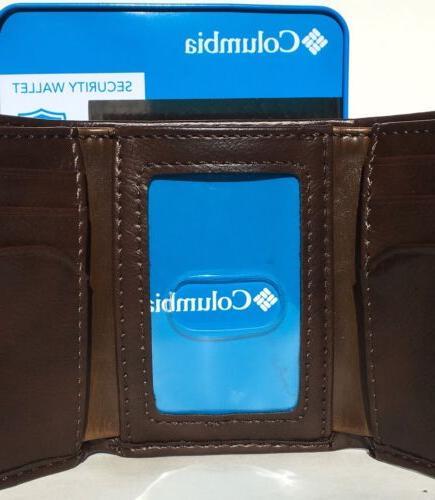 COLUMBIA SPORTSWEAR In RFID Security Trifold