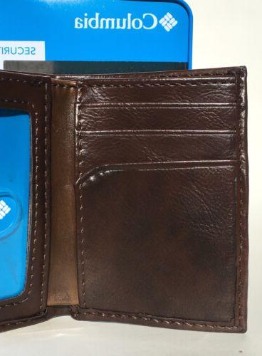 COLUMBIA Built In RFID Trifold