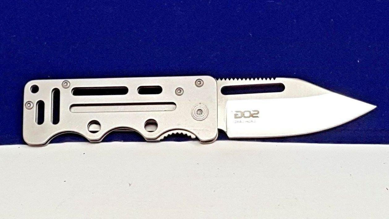 SOG Liner Lock Clip