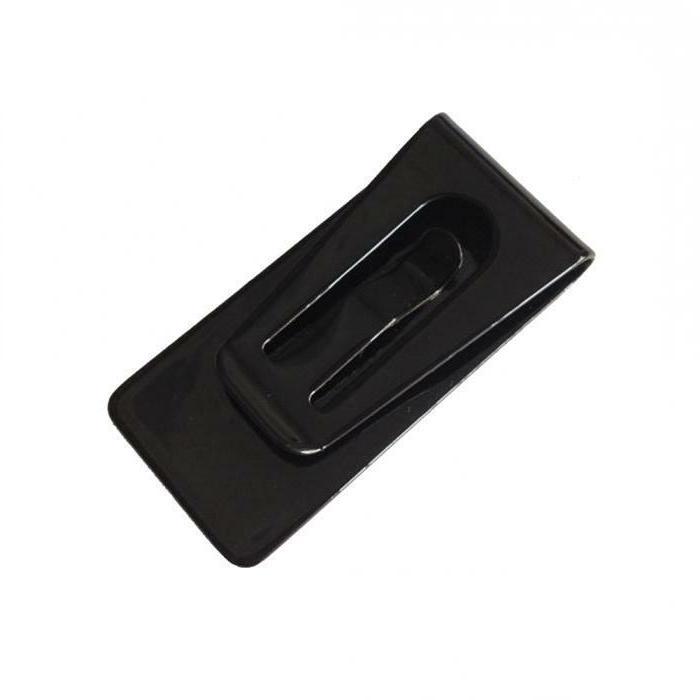 Stainless Black Pocket Holder USA