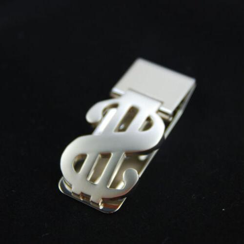 Stainless Steel Dollar Sign Money Cash Holder