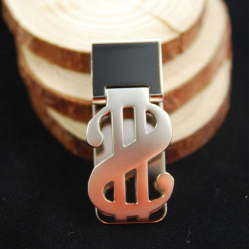 Stainless Dollar Money Clip Holder Wallet