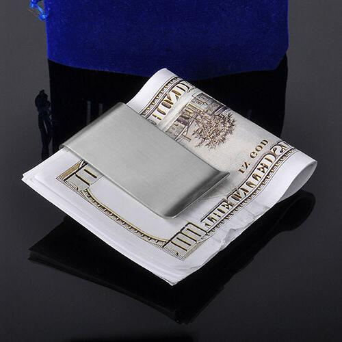 Stainless Steel Money Clip Credit Card 10-3