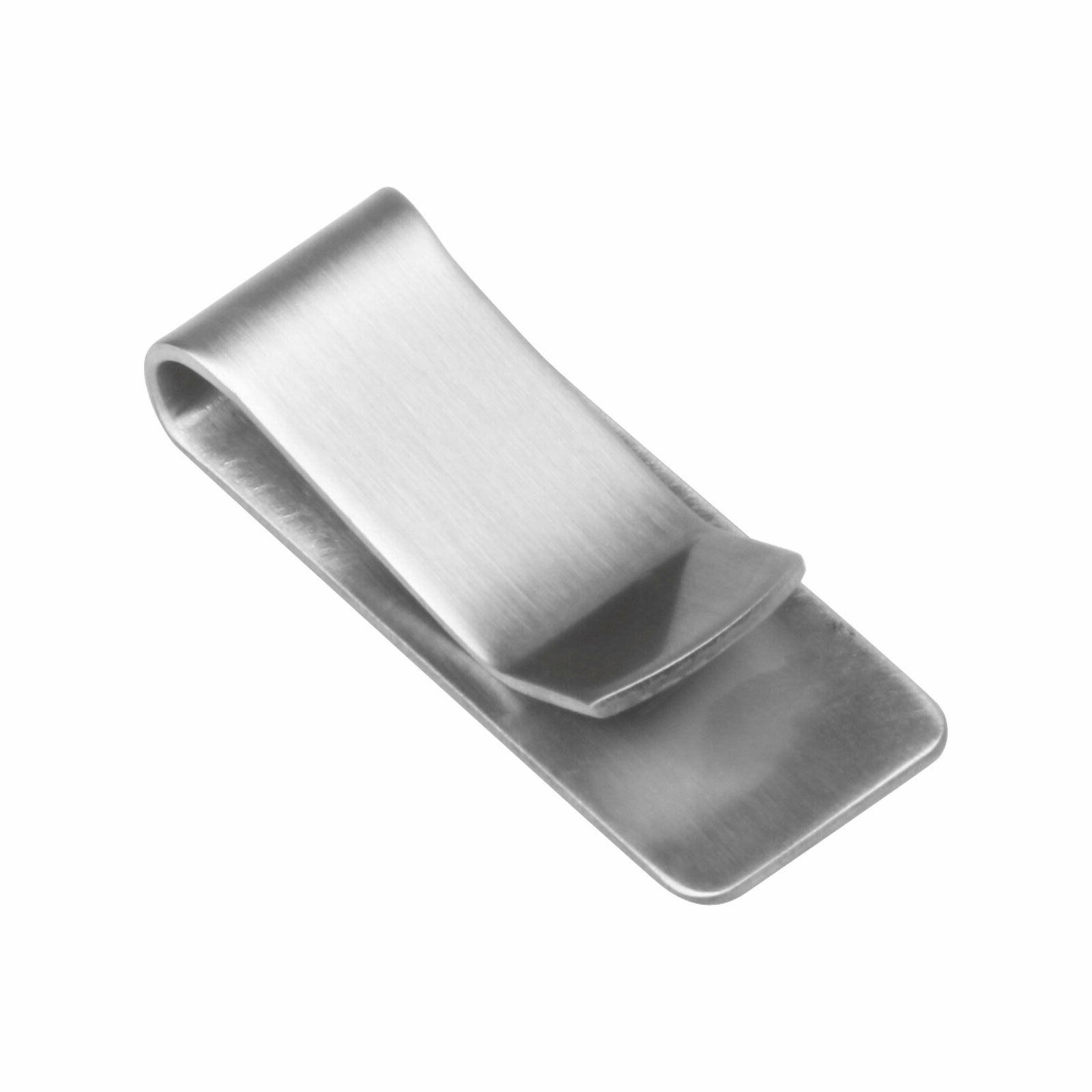 Stainless Silver Wallet Holder