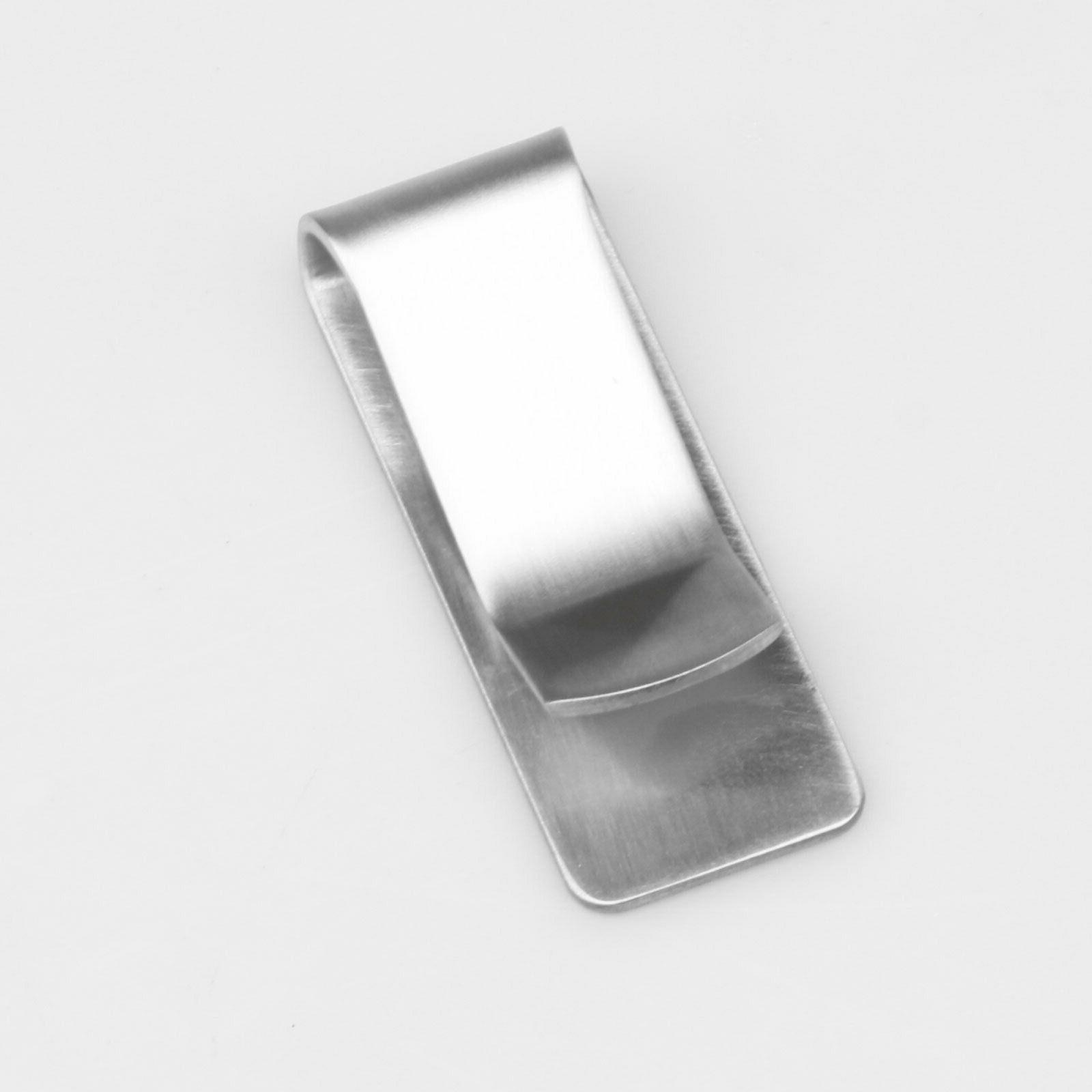Stainless Steel Money Silver Pocket Wallet