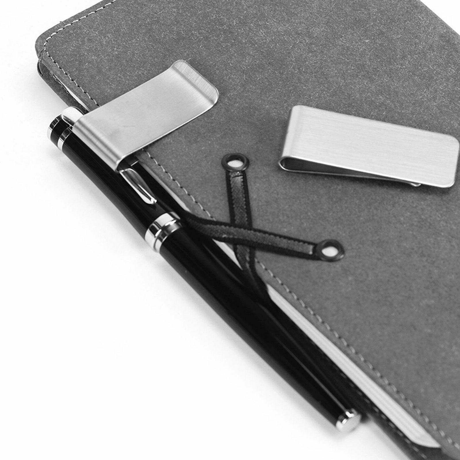 Stainless Steel Silver Metal Holder Wallet