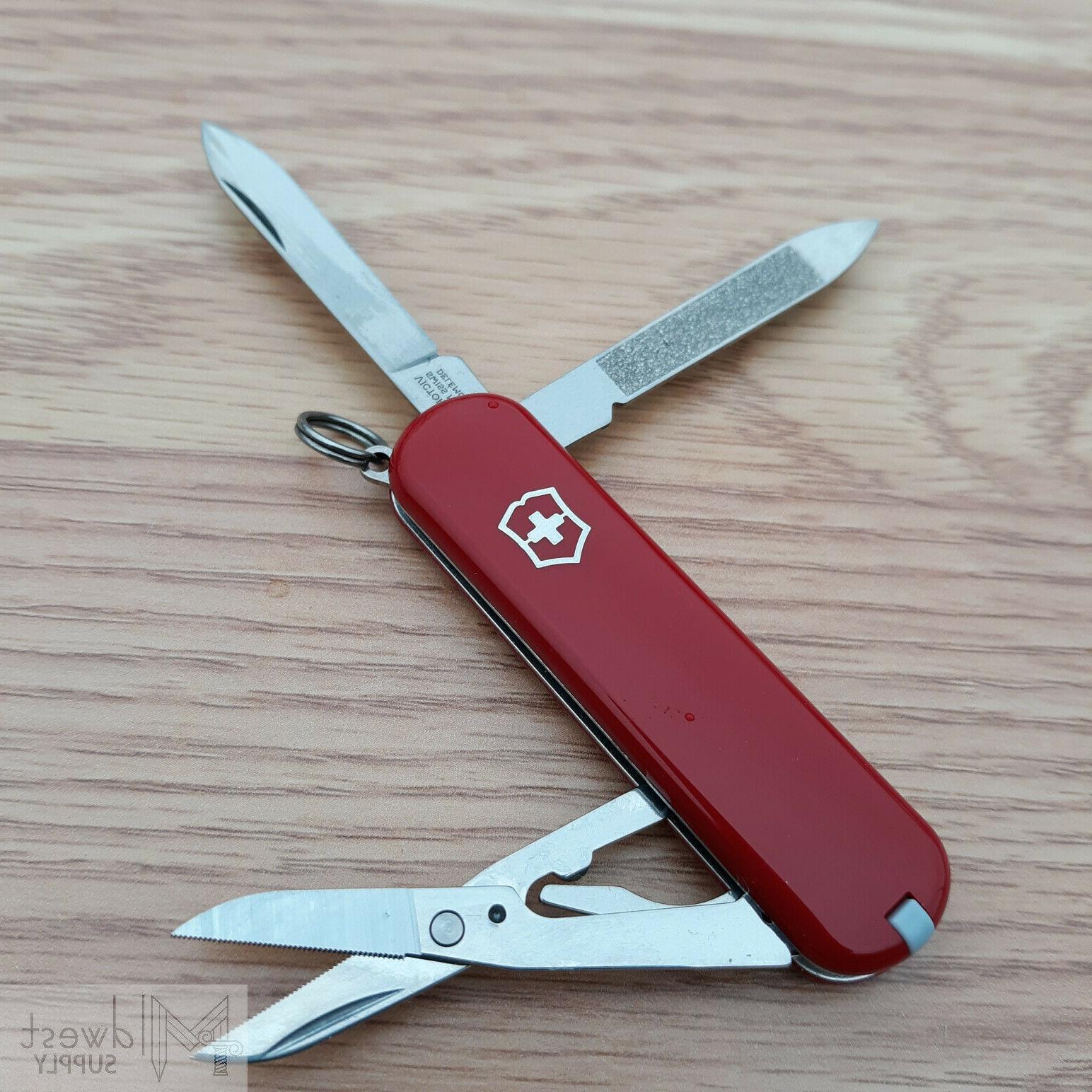 Victorinox 81 Stainless Red