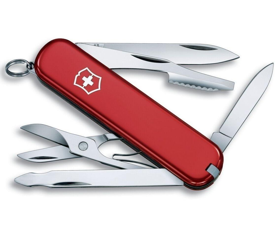 swiss army executive pocket knife stainless 10
