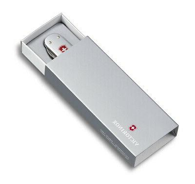 Victorinox Swiss Army Money 74 5 functions Alox Polished 0.6540.16