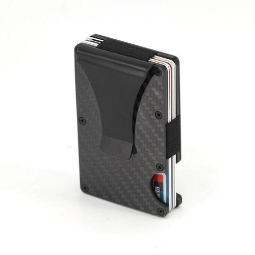 The Card Wallet Fiber Clip Minimalist Front Pocket Slim USA
