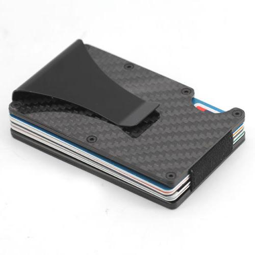 The Card Wallet Fiber Clip Front Slim USA